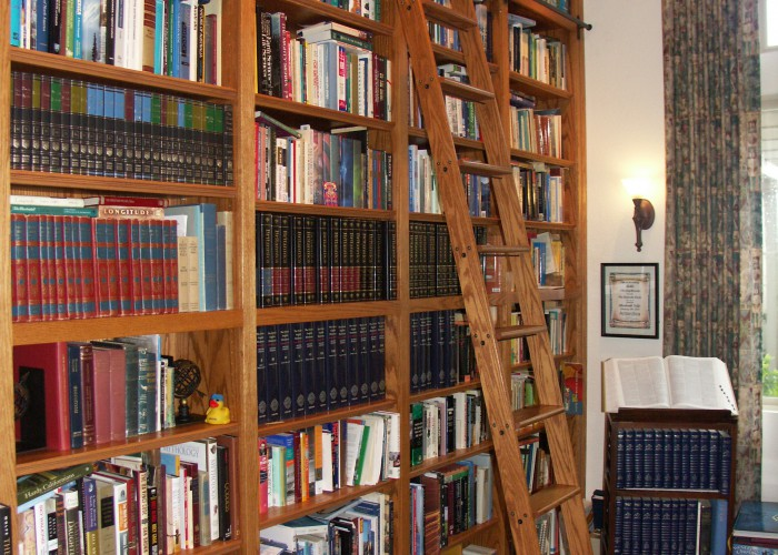 Custom Bookcase U0026 Ladder