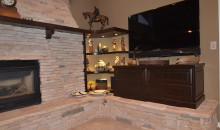 Custom Shelves and Entertainment Center